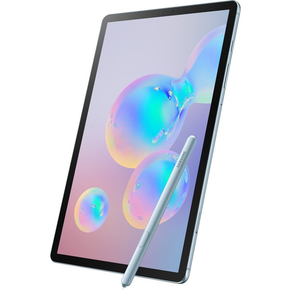 "Samsung Galaxy Tab S6 SM-T860 Tablet - 10.5"" - 6 GB RAM - 128 GB Storage - Android 9.0 Pie - Cloud Blue - SM-T860NZBAXAR"