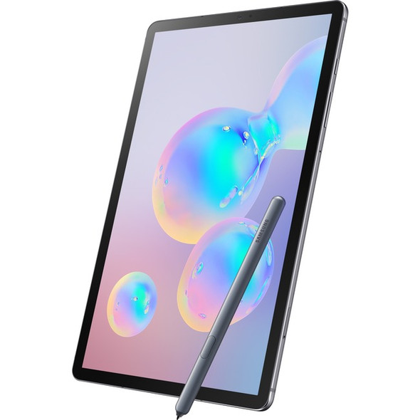 "Samsung Galaxy Tab S6 SM-T860 Tablet - 10.5"" - 8 GB RAM - 256 GB Storage - Android 9.0 Pie - Mountain Gray - SM-T860NZALXAR"