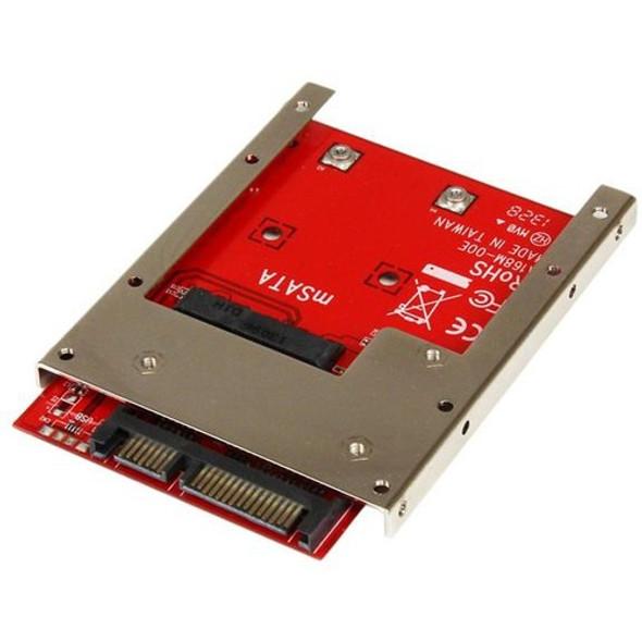 StarTech mSATA SSD to 2.5in SATA Adapter Converter - SAT32MSAT257