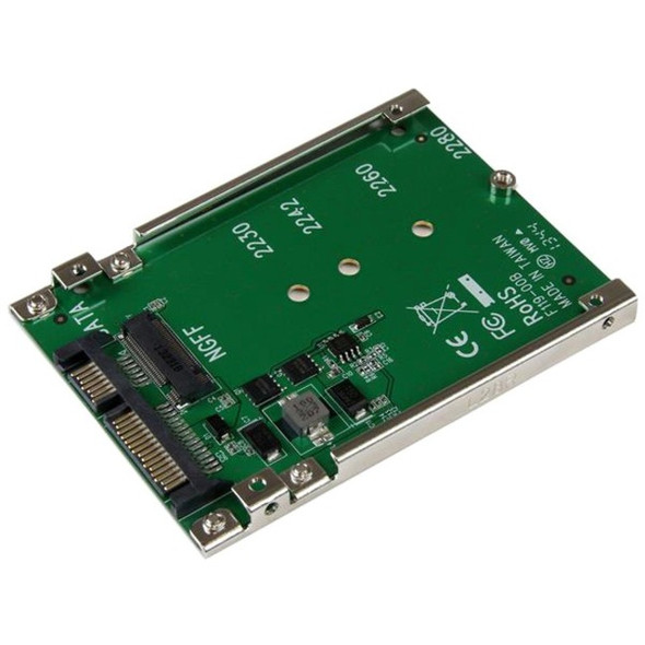 StarTech M.2 SSD to 2.5in SATA Adapter Converter - SAT32M225