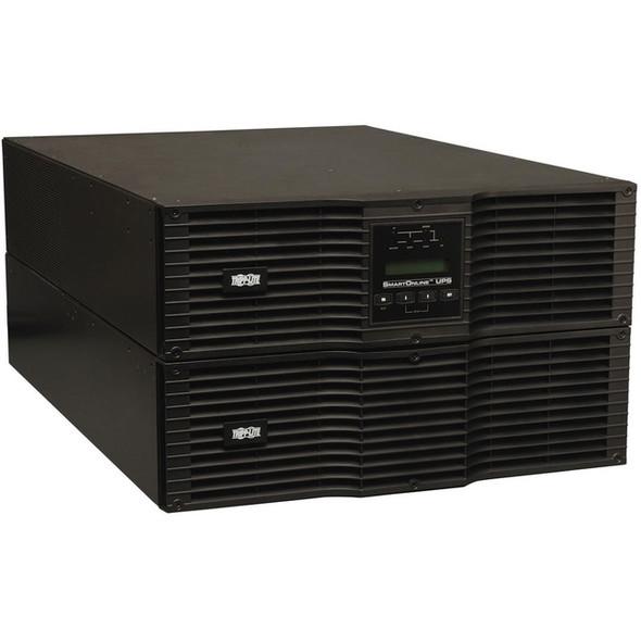 Tripp Lite 10000VA 10KVA Smart Online UPS 208/240V 9kW USB DB9 6URM TAA - SU10000RT3UTAA