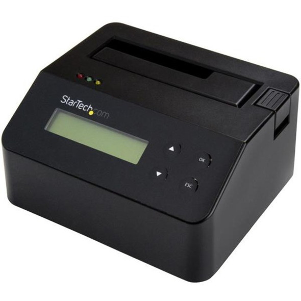 StarTech Hard Drive Eraser and Docking Station Standalone - 4Kn Support - TAA - 2.5 / 3.5 SATA SSD/HDD Dock & Wiper - SDOCK1EU3P2