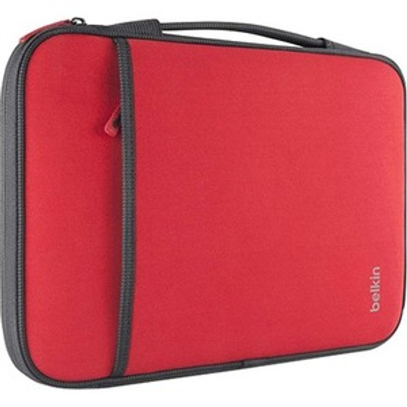 """Belkin Carrying Case (Sleeve) for 11"""" Netbook - Red - B2B081-C02"""