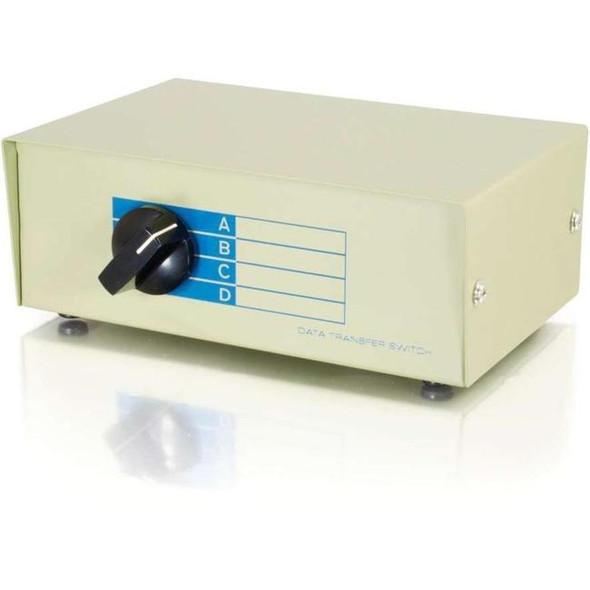 C2G 4-Port DB25 Manual Switch Box - 3292
