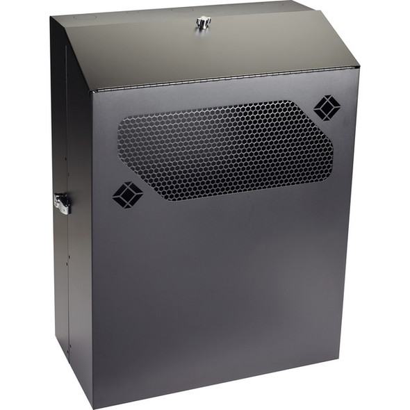 "Black Box Low-Profile Vertical Wallmount Cabinet - 6U, 24""D Equipment - RMT353A-R3"