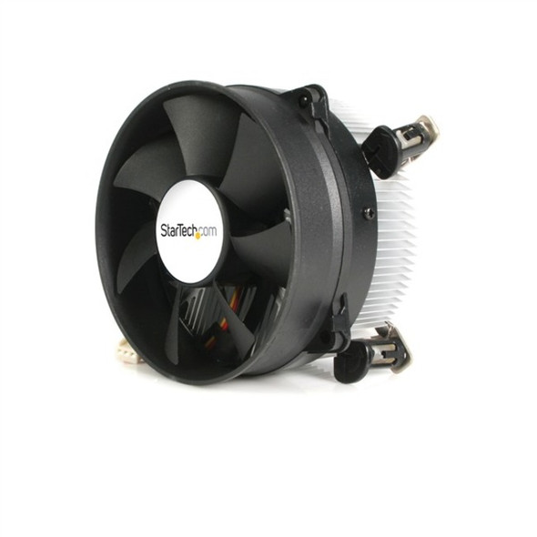 StarTech CPU Cooler Fan - Processor cooler - ( Socket 775 ) - aluminum - black - 95mm - FAN775E