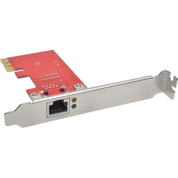 Tripp Lite 1-Port Gigabit Ethernet (GbE) PCI Express (PCIe) Card, Full Profile - PCE-1G-01