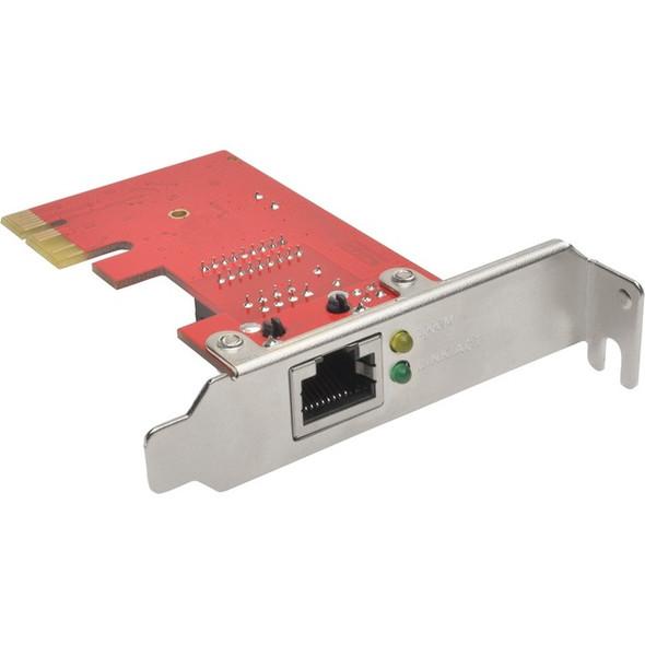 Tripp Lite 1-Port Gigabit Ethernet (GbE) PCI Express (PCIe) Card, Low Profile - PCE-1G-01-LP