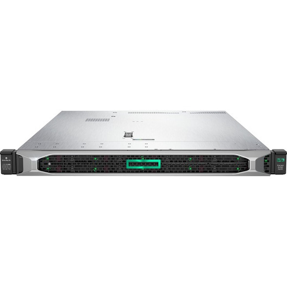 HPE ProLiant DL360 G10 1U Rack Server - 1 x Xeon Gold 6242 - 32 GB RAM HDD SSD - Serial ATA/600, 12Gb/s SAS Controller - P19180-B21