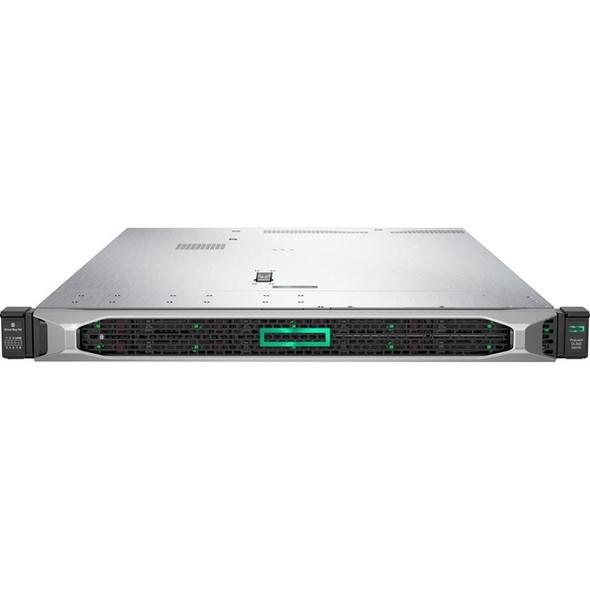 HPE ProLiant DL360 G10 1U Rack Server - 1 x Xeon Gold 6242 - 32 GB RAM HDD SSD - Serial ATA/600, 12Gb/s SAS Controller - P19180-B21
