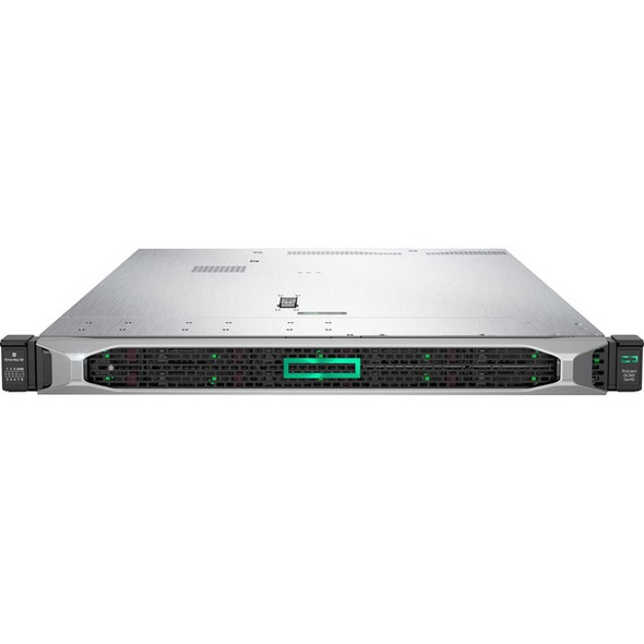 HPE ProLiant DL360 G10 1U Rack Server - 1 x Xeon Gold 5222 - 32 GB RAM HDD SSD - Serial ATA/600, 12Gb/s SAS Controller - P19178-B21