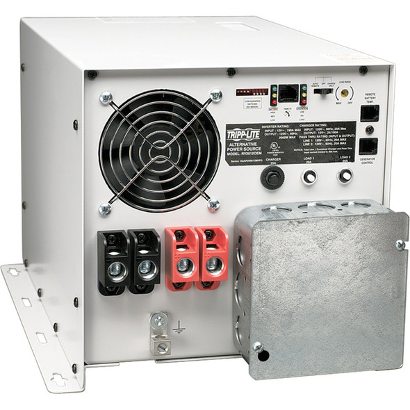 Tripp Lite 3000W RV Inverter / Charger with Hardwire Input / Output 12VDC 120VAC - RV3012OEM