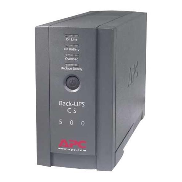 APC Back-UPS CS 500VA Tower UPS - BK500BLK