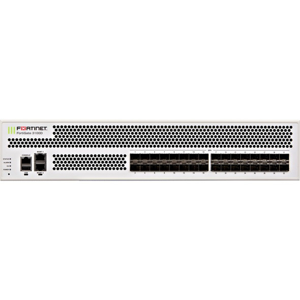 Fortinet FortiGate 3100D Network Security/Firewall Appliance - FG-3100D-BDL-950-60
