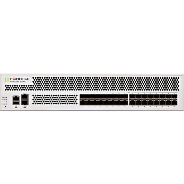 Fortinet FortiGate 3100D Network Security/Firewall Appliance - FG-3100D-BDL-900-60