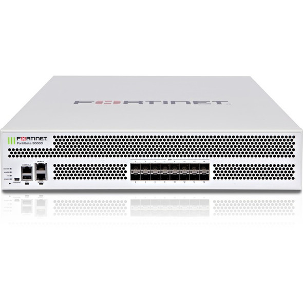 Fortinet FortiGate 3000D Network Security/Firewall Appliance - FG-3000D-BDL-900-60