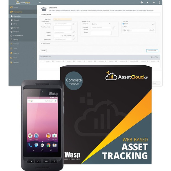 Wasp DR4 2D Android Mobile Computer - 6.33809E+11