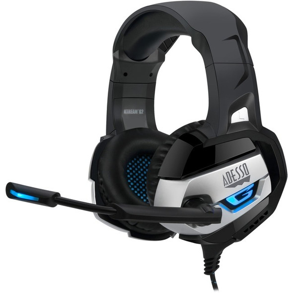 Adesso Stereo USB Gaming Headset with Microphone - XTREAM G2