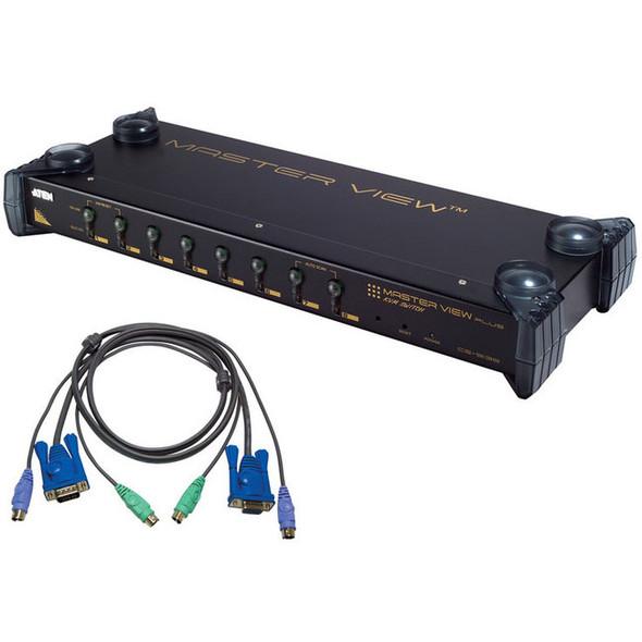 Aten MasterView CS9138 KVM Switch-TAA Compliant - CS9138KIT