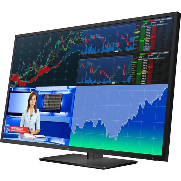 "HP Business Z43 42.5"" 4K UHD WLED LCD Monitor - 16:9 - Black Pearl - 1AA85A8#ABA"