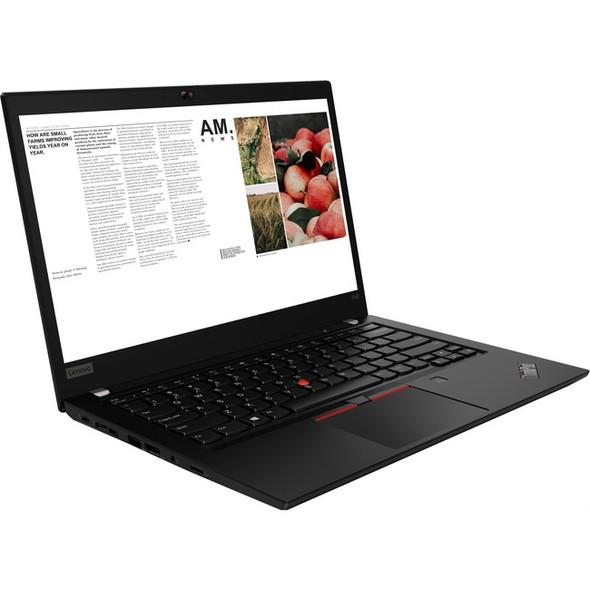 "Lenovo ThinkPad T490 20RY0002US 14"" Touchscreen Notebook - 1920 x 1080 - Core i7 i7-10510U - 16 GB RAM - 512 GB SSD - Glossy Black - 20RY0002US"