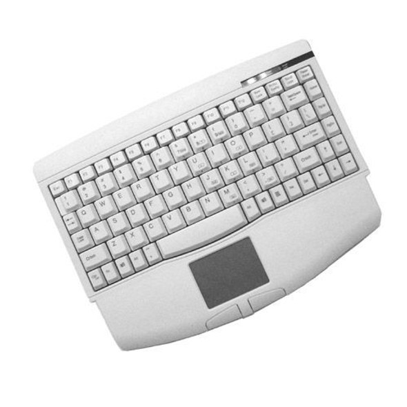 Adesso ACK-540PW Mini-Touch Keyboard with Touchpad - ACK-540PW