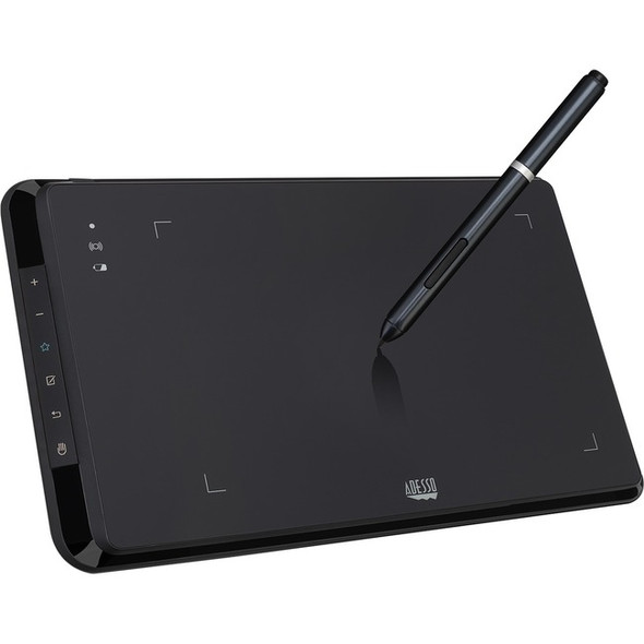 Adesso CyberTablet W9 - 8 x 5 in. Wireless Graphics Tablet - CYBERTABLET W9