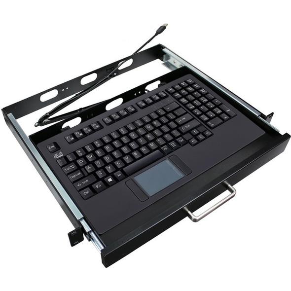 Adesso EasyTouch 425UB-MRP - Touchpad Keyboard w/ Rackmount - AKB-425UB-MRP