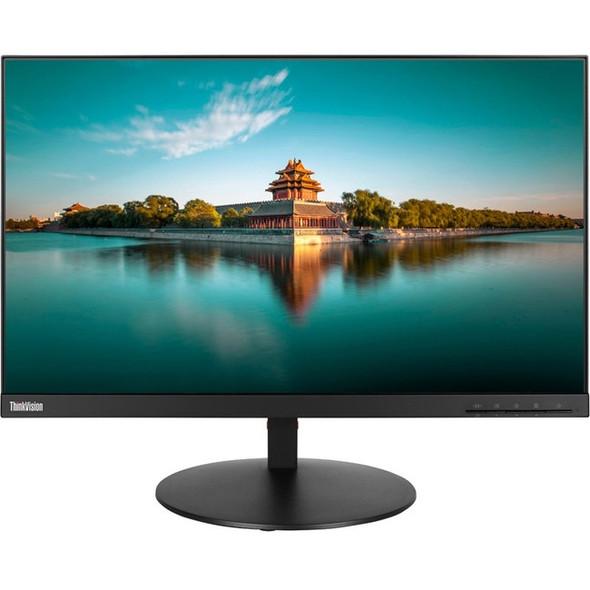 """Lenovo ThinkVision P24q-10 24"""" WQHD LED LCD Monitor - 16:9 - Black - 61A5GAR3US"""