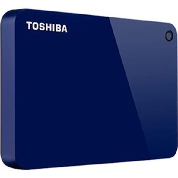 "Toshiba Canvio Advance HDTC940XR3CA 4 TB Portable Hard Drive - 2.5"" External - Red - HDTC940XR3CA"