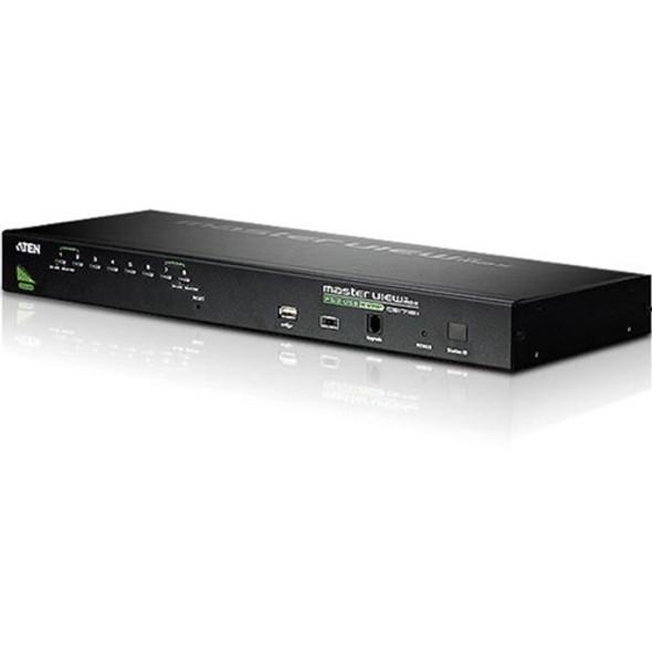 Aten CS1708A 8-Port PS/2 USB KVM Switch-TAA Compliant - CS1708A