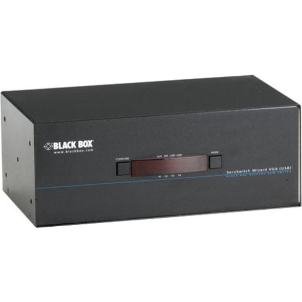 Black Box ServSwitch Wizard VGA, USB, Quad-Head Video - KV3404A