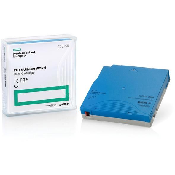 HPE LTO 5 Ultrium 3TB WORM Data Cartridge - C7975W