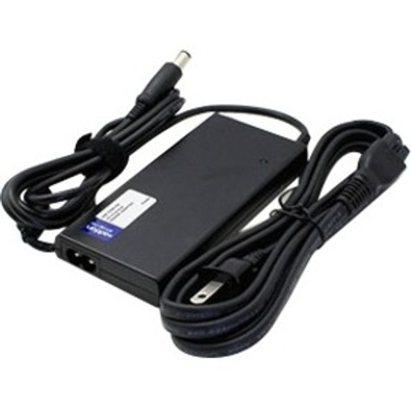 AddOn Dell 469-1494 Compatible 90W 19.5V at 4.62A Laptop Power Adapter and Cable - 469-1494-AA
