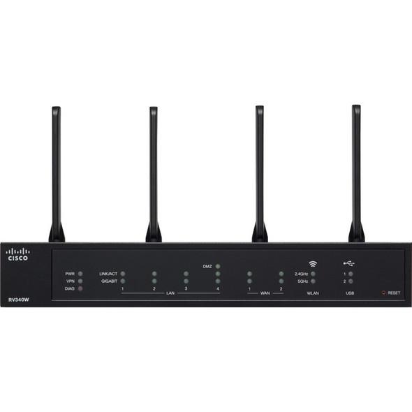Cisco RV340W IEEE 802.11ac Ethernet Wireless Router - RV340W-A-K9-NA