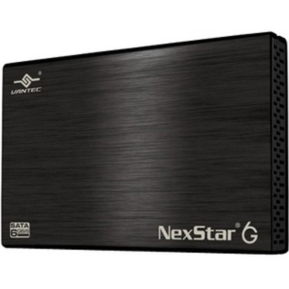 Vantec NexStar 6G NST-266S3-BK Drive Enclosure - USB 3.0 Host Interface External - Black - NST-266S3-BK