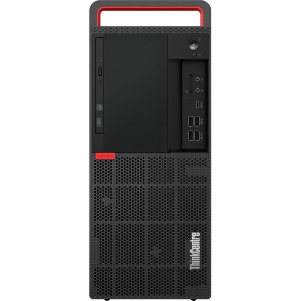 Lenovo ThinkCentre M920t 10SF000BUS Desktop Computer - Core i7 i7-8700 - 8 GB RAM - 256 GB SSD - Tower - Raven Black - 10SF000BUS