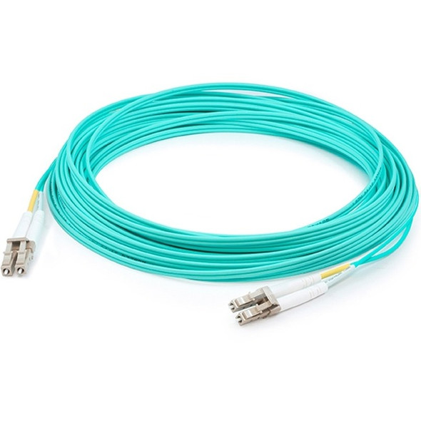 Add-on This Is A 15m Lc (male) To Lc (male) Aqua Duplex Riser-rated Fiber Patch Cable. - ADD-LC-LC-15M5OM4