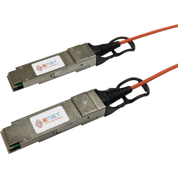Cisco Compatible QSFP-H40G-AOC7M Functionally Identical 40GBASE-AOC QSFP+ Active Optical Cable Assembly 7 Meter - QSFPH40GAOC7MENC