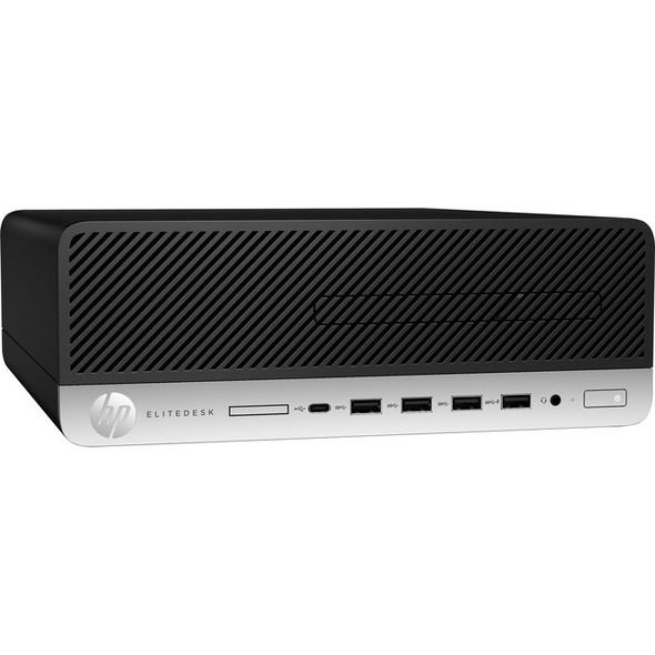 HP EliteDesk 705 G5 Desktop Computer - Ryzen 5 PRO 3400G - 8 GB RAM - 256 GB SSD - Small Form Factor - 8LJ47UT#ABA