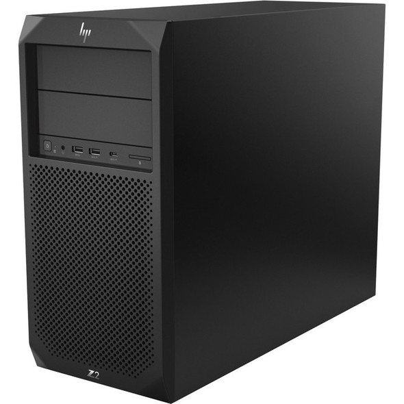 HP Z2 G4 Workstation - 1 x Core i7 i7-8700 - 8 GB RAM - 512 GB SSD - Mini-tower - Black - 4YL44UT#ABA