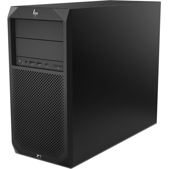 HP Z2 G4 Workstation - 1 x Xeon E-2144G - 16 GB RAM - 512 GB SSD - Mini-tower - Black - 5DV38UT#ABA