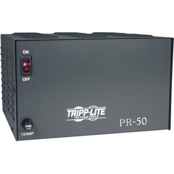 Tripp Lite DC Power Supply 50A 120VAC to 13.8VDC AC to DC Conversion TAA GSA - PR50