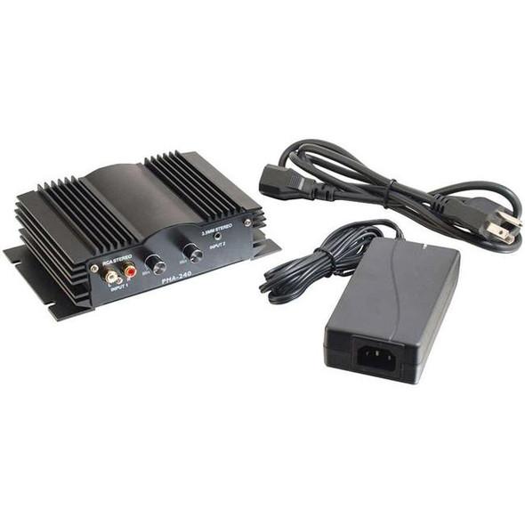 C2G 40 Watt Plenum-Rated Stereo Audio Amplifier - 40533