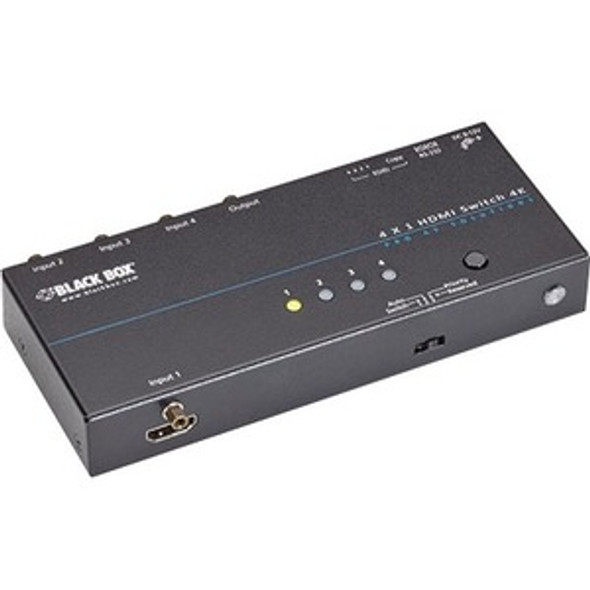 Black Box 4K HDMI Switch - 2 x 1 - VSW-HDMI2X1-4K