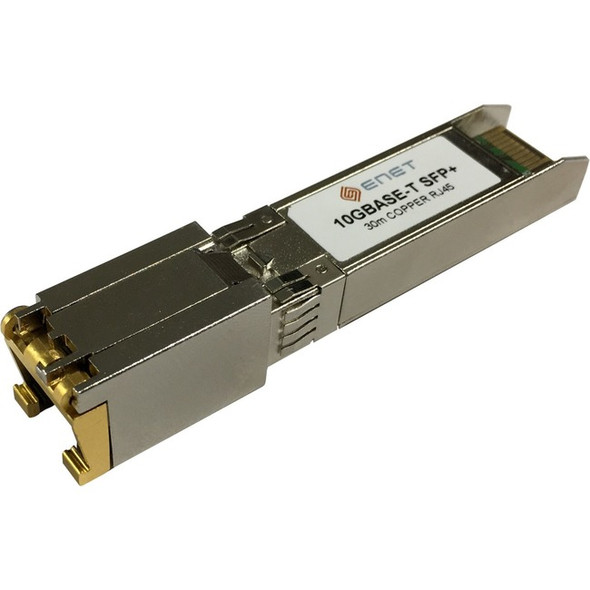 Cisco Compatible SFP-10G-T - Functionally Identical 10GBASE-T Copper SFP+ for Cat6A/Cat7 RJ-45 30m Max - SFP-10G-T-ENC