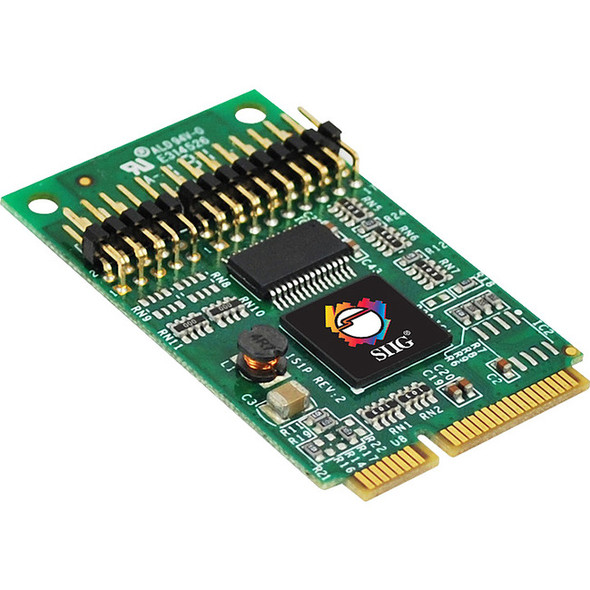 SIIG 1S1P Mini PCIe with 16950 UART - JJ-E10111-S1
