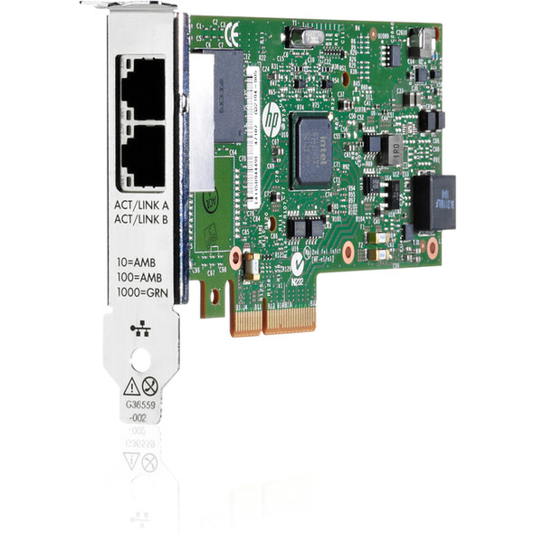 HPE Ethernet 1Gb 2-port 361T Adapter - 652497-B21