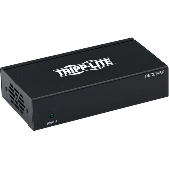 Tripp Lite HDMI Over Cat6 Active Remote Receiver w/ PoC 4K@60Hz 4:4:4, HDR, TAA - B127P-100-H