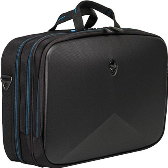 """Mobile Edge Alienware Vindicator AWV15BC2.0 Carrying Case (Briefcase) for 15"""" Notebook - Black, Teal - AWV15BC-2.0"""